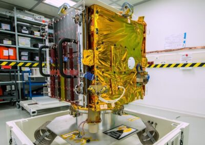 HDRM for the first commercial microsatellite ESAIL
