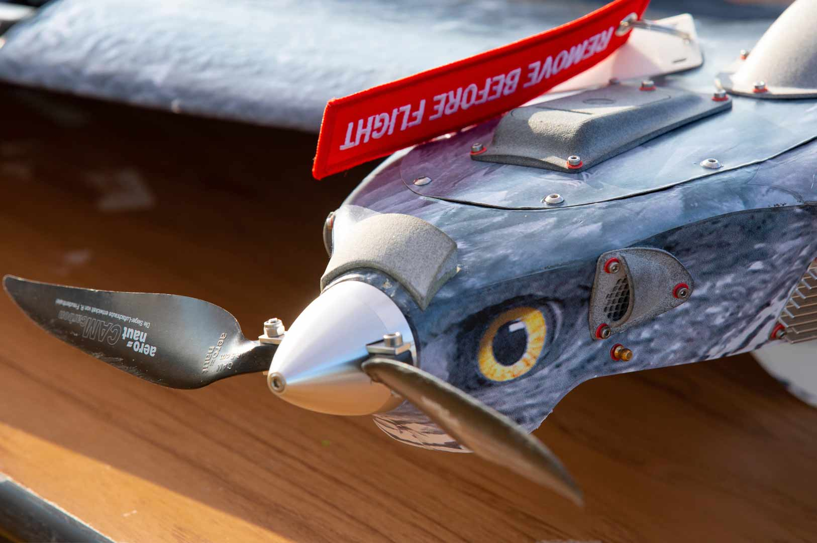 ARQUIMEA's Bird camouflage UAV SHEPHERD-MIL ADVANCED