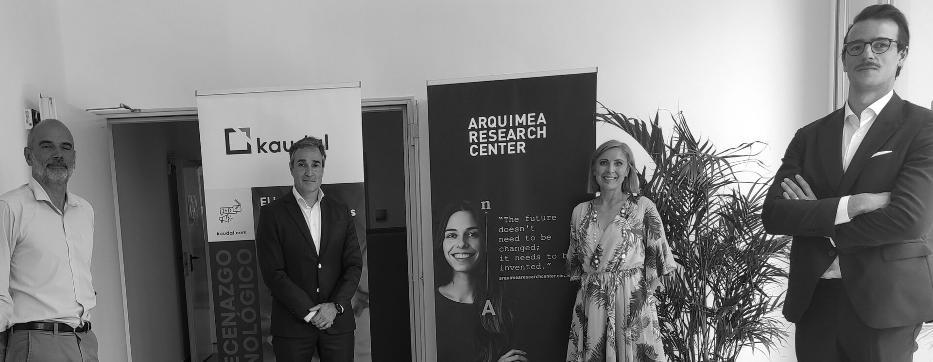 ARQUIMEA Research Center, Kaudal and the Universidad Europea de Canarias promote the development of R+D projects