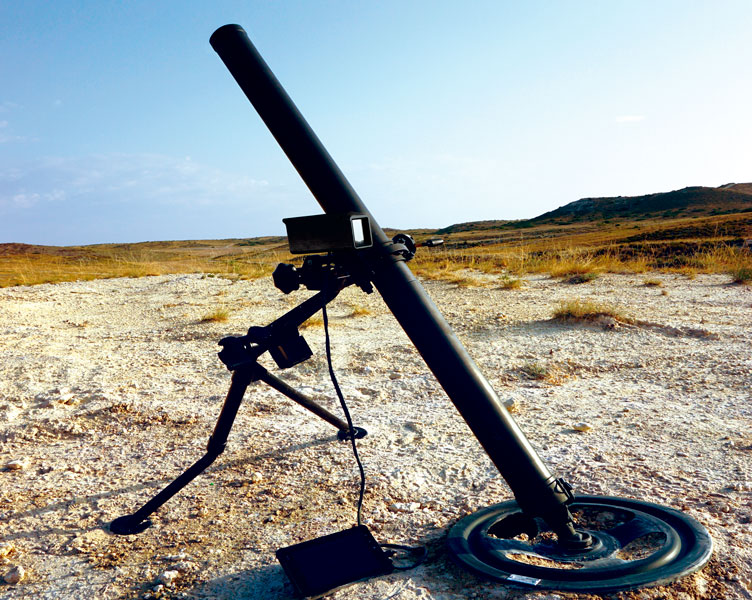 eCOMPAX aiming solution mortar systems