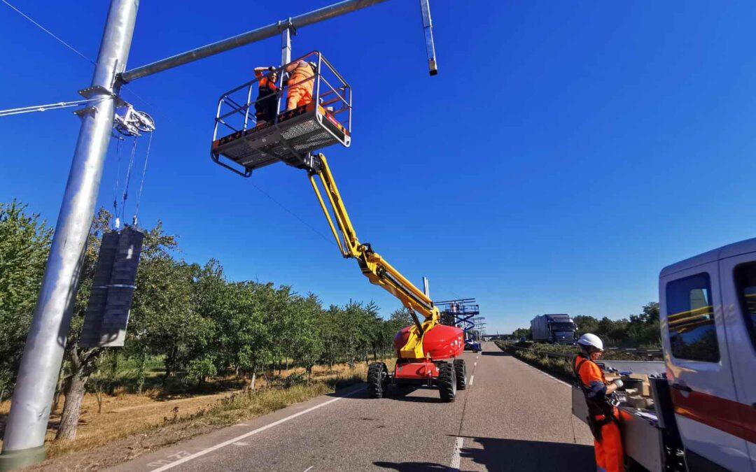 ARQUIMEA electrificación carreteras