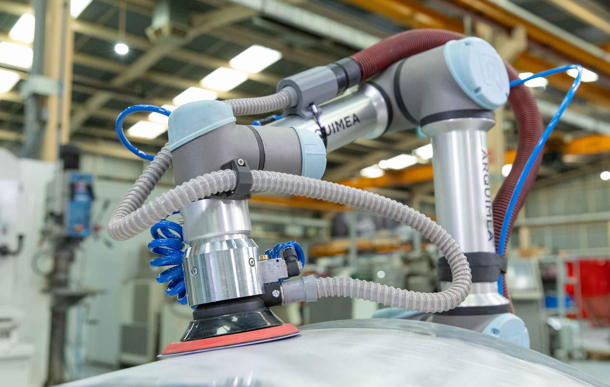 Universal Robotskit for sanding and polishing